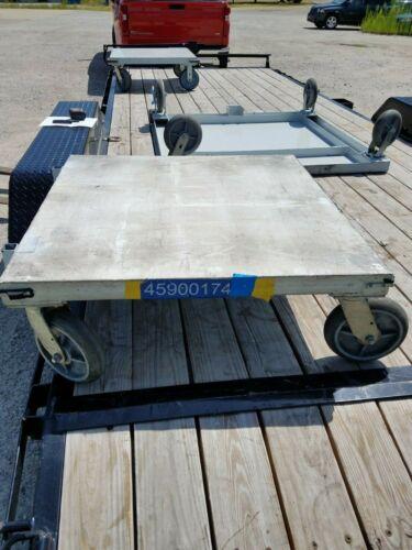 """Heavy Duty Steel Dolly Cart - 36"""" x 36"""""""
