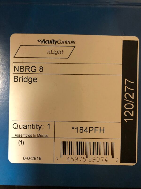 *BRAND NEW* Acuity Controls NBRG 8 Bridge