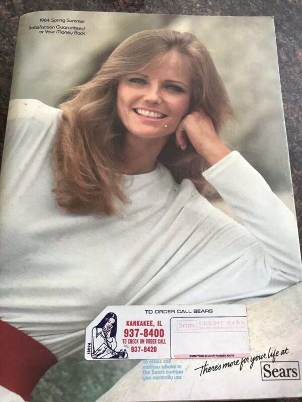 Vintage 1984 SEARS Spring/Summer Catalog~Cheryl Tiegs~funky 80s Fashion