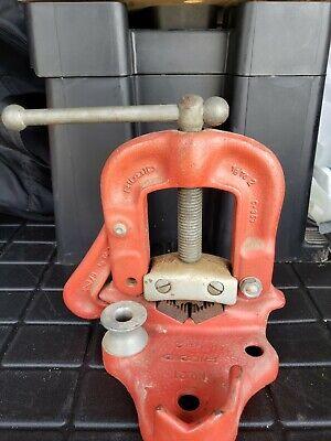 Ridgid Bench Yoke No. 21 Pipe Vise Plumbing Pipefitters