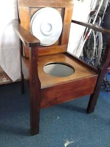 Antique Commode Chair | Gumtree Australia Free Local Classifieds