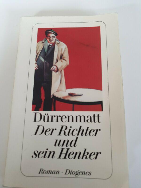 Der Richter und sein Henker von Friedrich Dürrenmatt (1992, Taschenbuch)