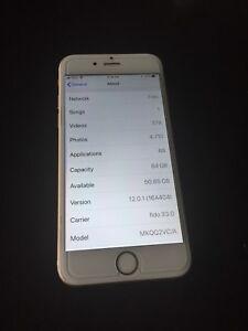 iPhone 6s 64gb unlocked, mint
