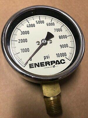 Enerpac 0 - 10000 Pressure Gauge 12 Npt