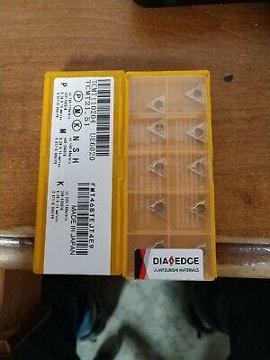 TCMT 16T308 Grade UE6020 10 pcs MITSUBISHI Carbide inserts TCMT 32.52