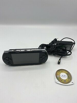 SONY PSP 1000 1001 Playstation Portable TESTED With Game & Charger Memory Card