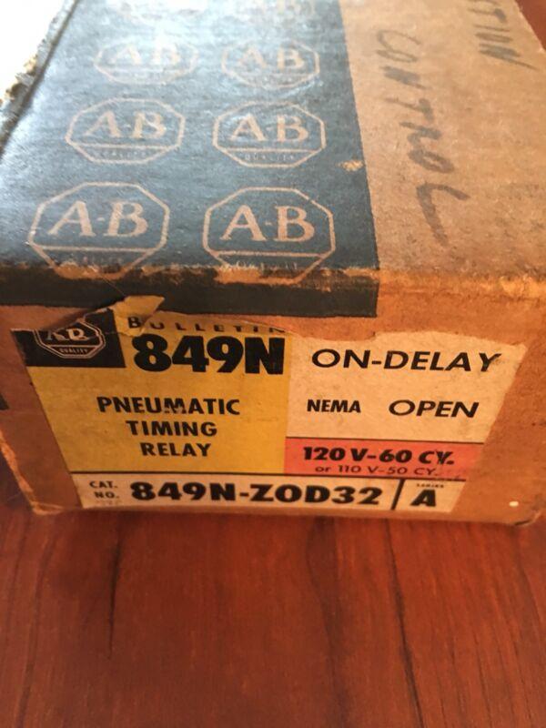allen bradley Pneumatic Timing Relay 849N-ZOD32 Series A