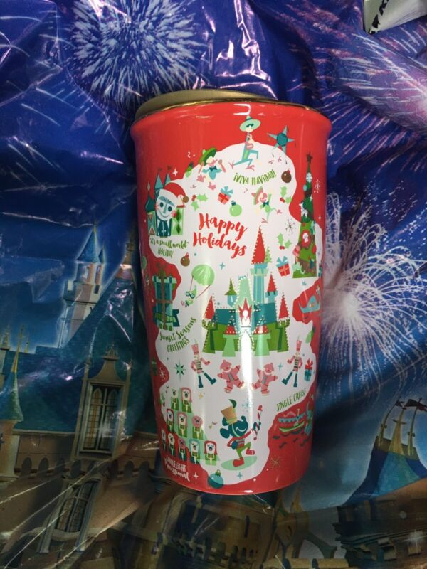 Disney Parks 2020 Starbucks Magic Kingdom Happy Christmas Tumbler Coffee Mug New