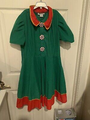 Fun Christmas Costumes (Fun Costumes Elf Dress Christma Adult Size)