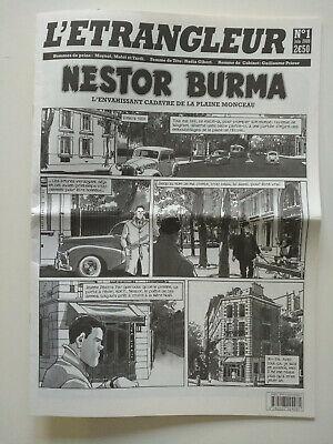 EO 2009 (comme neuf) - Nestor Burma Journal (l'étrangleur 1) - Moynot & Tardi