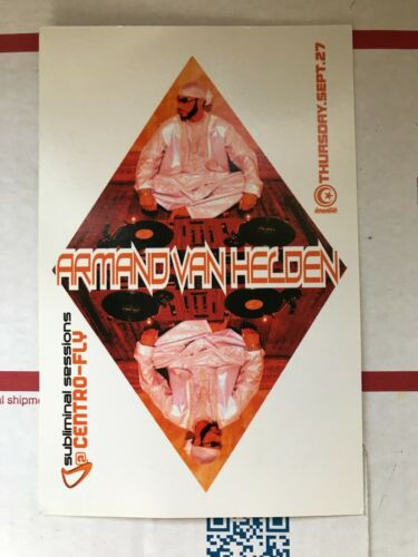 Armand Van Helden @ Centro-Fly Club Rave Flyer Subliminal Records NYC LP Release