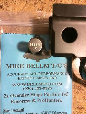 Bellm 2X Oversized Hinge Pin For Tc Encore Pro Hunter Endeavor