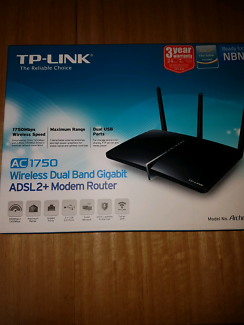 TP link wireless ADSL2+ modem router Archer D7 (new condition)