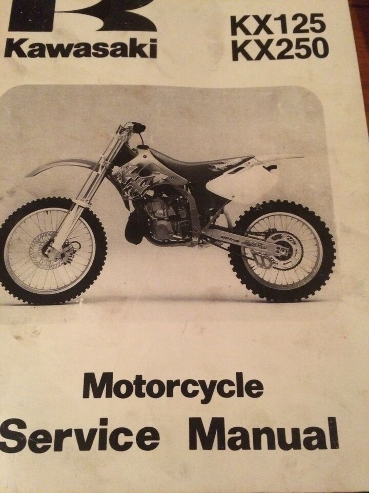 Manual for 1994 kx125 array 1994 1998 kawasaki kx125 kx250 service manual motorcycle parts rh fandeluxe Image collections