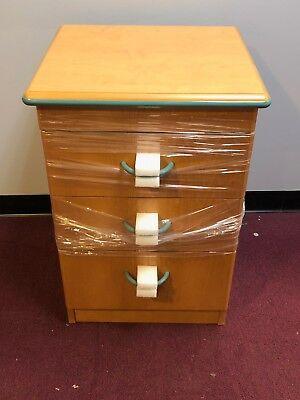Softcare Nurture 26bt2002 3 Drawer Wooden Bedside Table Medical Furniture Lot 4