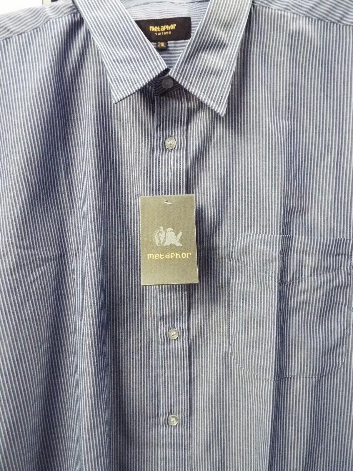 14362 M-5XL Metaphor Short Sleeve Summer Shirt