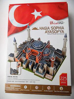 3D Puzzle Hagia Sophia / 2.Wahl / Ayasofya Cubic Fun Moschee Mosque Cathedral