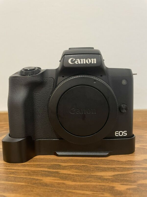 Canon EOS M50 - Extra Battery - Comes With Adapter