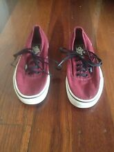 Original Vans Shoes - Maroon Colour Alderley Brisbane North West Preview