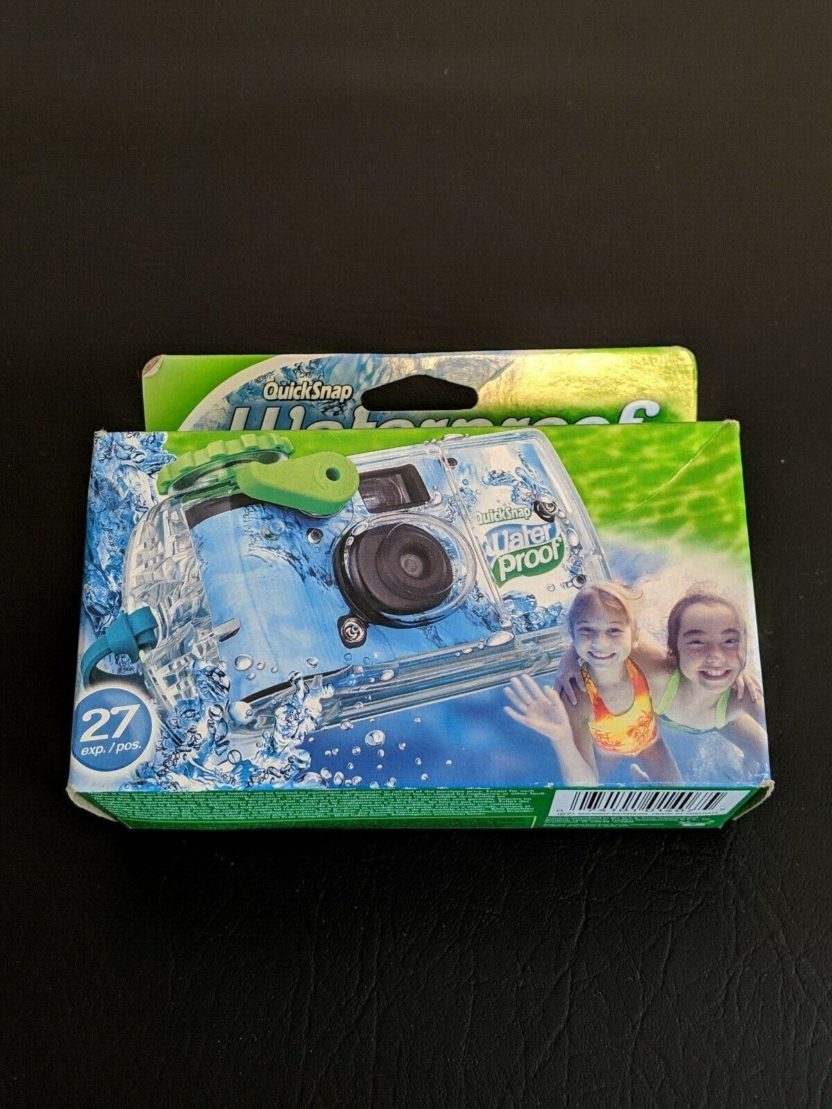 Fujifilm QuickSnap Waterproof Disposable 35mm Single Use Fil