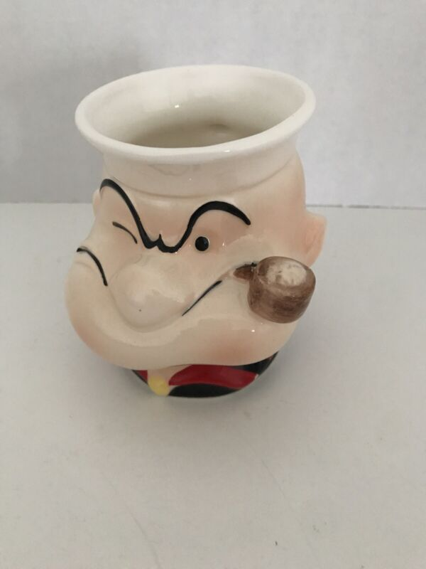 Vintage 1980 Popeye The Sailor Man King Features Syndicate Mug