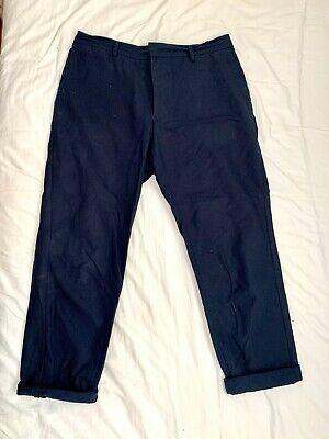 HOMECORE Paris - Slim Trousers - Blue Navy - Size 34