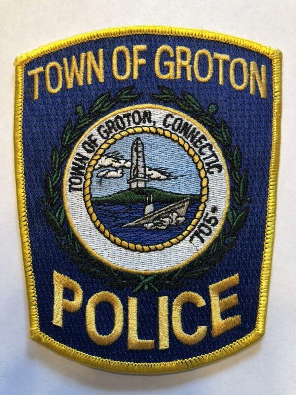 Unique Error Patch ~ Groton Connecticut Police