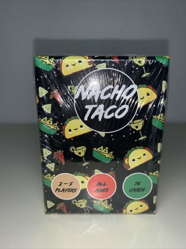 nacho taco A Taco Burrito card game With Nachos all ages Quick And Easy To Learn