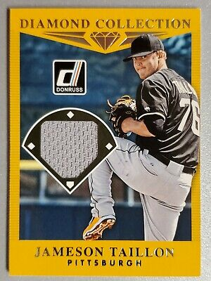 2017 Donruss Baseball Jameson Taillon Diamond Collection Jersey Relic Card