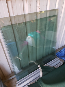 Glass pool fence panels x5 Clontarf Redcliffe Area Preview