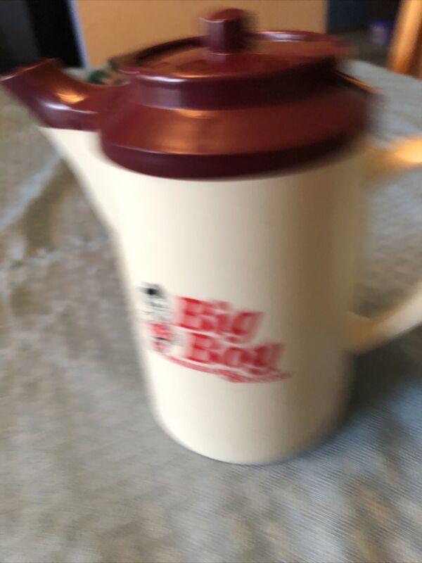Big Boy restaurant Hot Tea Hottle for Service