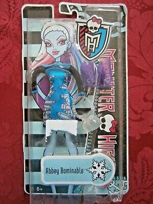 Monster High Doll Abbey Bominable Fashion Pack - NEW
