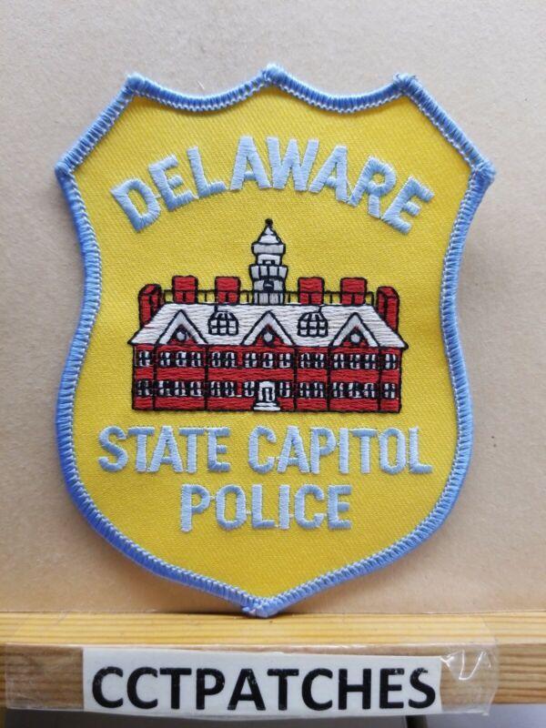 DELAWARE STATE CAPITOL POLICE SHOULDER PATCH