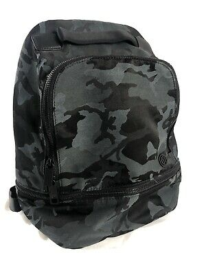 EUC LULULEMON *SOLD OUT* City Adventurer Backpack 17L Camo  Cammoflage