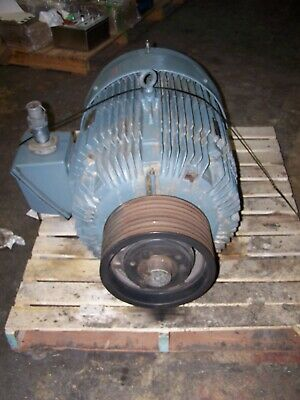 Reliance 100 Hp Duty Master Ac Motor 460v 3 Phase 405t Frame 1785 Rpm