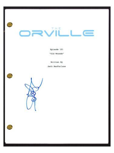 Scott Grimes Signed Autographed THE ORVILLE Pilot Episode Script COA