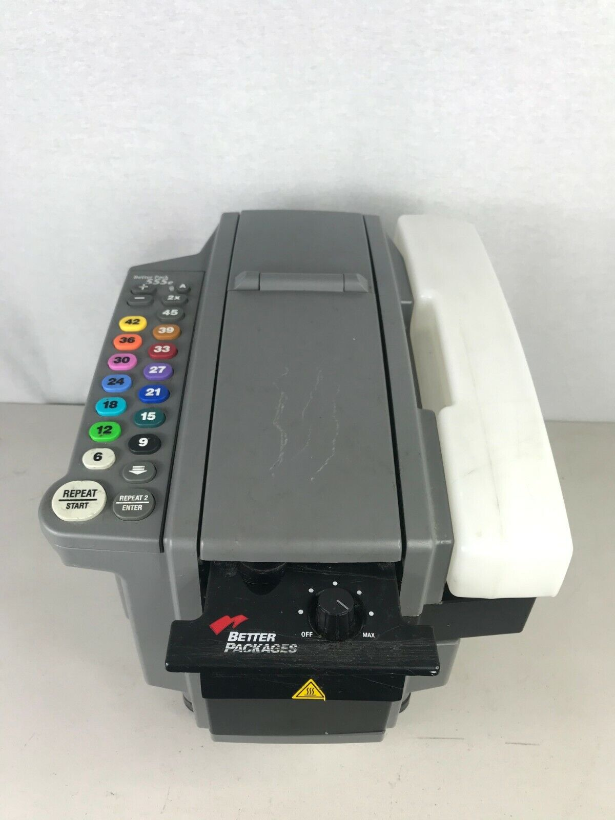 Better Pack 555e Electronic Gum Packing Tape Dispenser Working With No Issues - $600.21