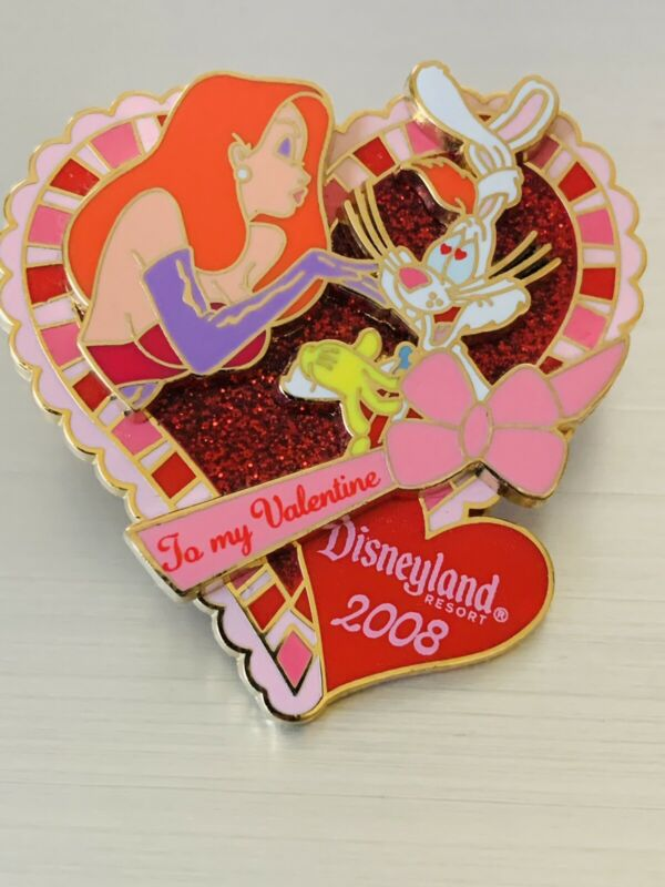Roger & Jessica Rabbit - Valentine's Day Pin Limited Edition 1000