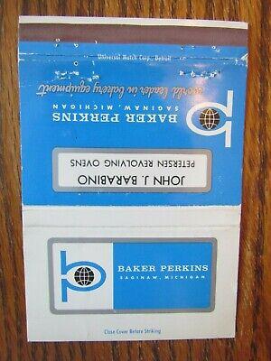 Used, ROYAL FLASH: BAKER PERKINS BAKERY EQUIPMENT (JOHN BARABINO) SAGINAW MICHIGAN F19 for sale  Shipping to Nigeria