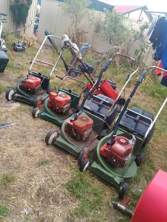 4 Scott Bonnar Lawn Mowers / Lawnmower parts only the lot