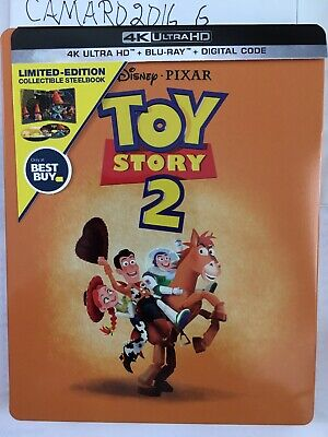 Disney/Pixar's Toy Story 2 Best Buy LTD Steelbook (4K UHD, Blu-ray) NO