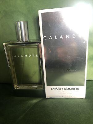 Paco Rabanne Calandre Eau de Toilette 100ml EDT Spray Authentic New Boxed