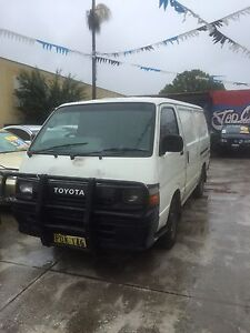 Toyota HiAce Van manual Canley Vale Fairfield Area Preview