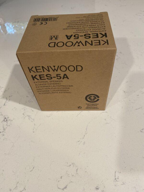 Kenwood KES-5A KES-5 External Radio Speaker 40 Watts 4 Ohms - Brand New speaker.