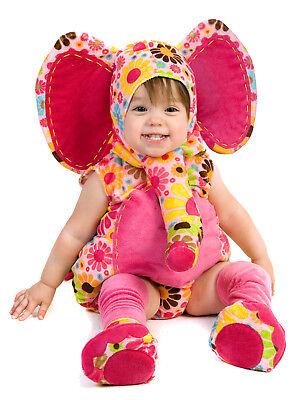 Isabella Elephant Costume Princess Paradise Pink Floral Baby 6 9 12 18 24 mo 2T  - Pink Elephant Baby Costume