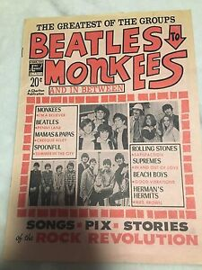 Beatles to monkees collector magazine 1968
