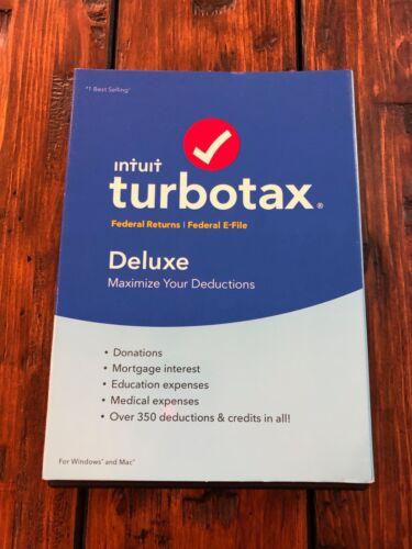 TurboTax Deluxe 2016 Mac|Windows INT940800F053