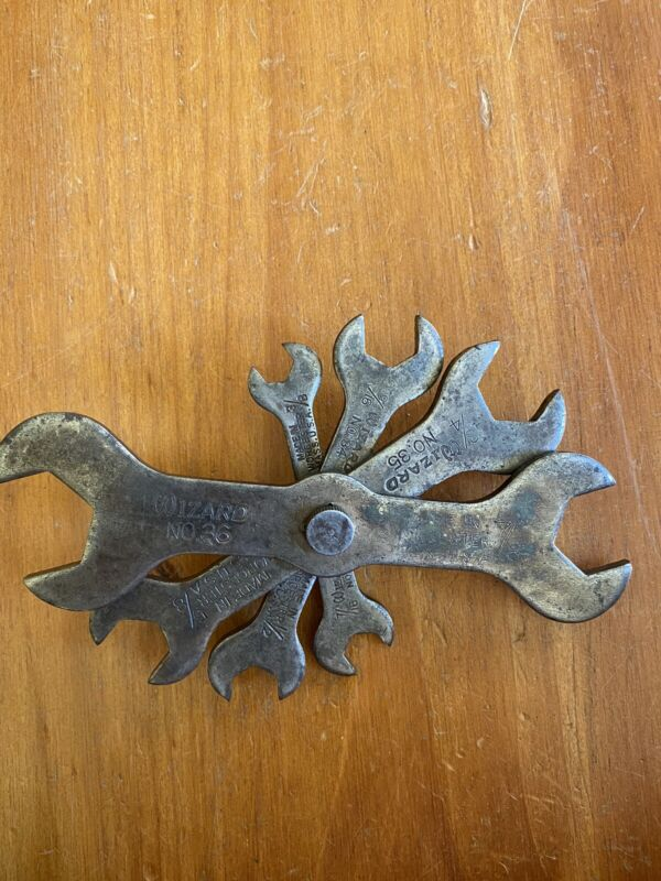 Vintage Wizard Wrench Set