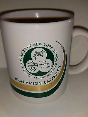 Binghamton University New  York Ny Collectible Coffee Mug Collegiate College
