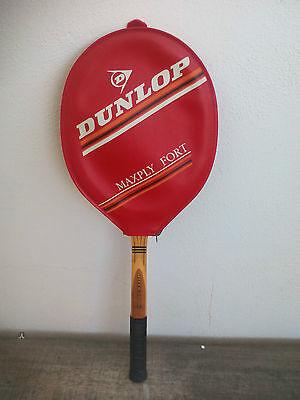 Antigua Raqueta de Tenis Dunlop Maxply Fort Graphite Tennis Racket with cover  segunda mano  Embacar hacia Mexico